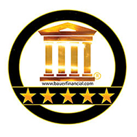 Our credit union is rated 5 stars by Bauer Financial.