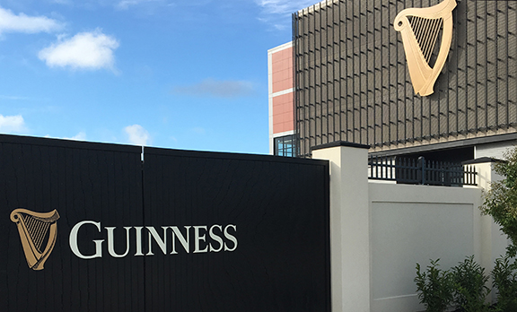 Guinness Open Gate Brewery and Barrel House exterior